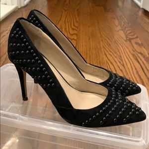 Studded French Connection black heels